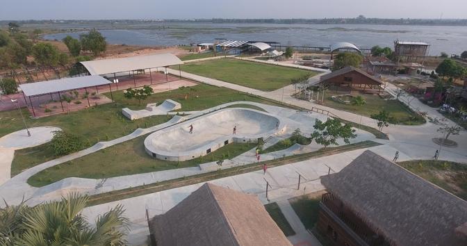 Welcome to Seametrey Leisure Centre, Tonle Bati, Cambodia